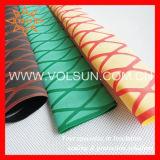 Tubo strutturato antisdrucciolevole dello Shrink di calore di colori
