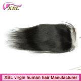 Chiusura peruviana superiore dei capelli umani del grado 8A