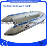 Peschereccio di alluminio gonfiabile poco costoso da vendere