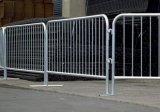 Barriera di controllo di folla di concerto di formato standard 2.0*1.1m/barriera d'argento galvanizzata di controllo di folla