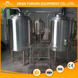 ビール醸造所装置1000LのオオムギのMalting機械Lauterの大酒樽