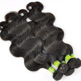Оптовые естественные людские бразильские волосы девственницы 9A-10A/перуанские волосы/малайзийские волосы/индийское выдвижение Lbh111 волос
