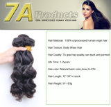 7A Grade NaturalブラジルのRemy Weavon Hair Human Hair Extension