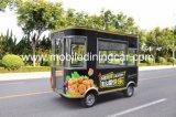 Camion électrique mobile de nourriture à vendre avec l'OIN et le ce