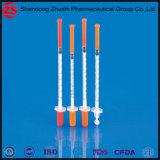 Spezielle heiße verkaufeninsulin-Spritze mit Nadel-und Blasen-Verpackung