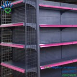 Plank van de Vertoning van de Gondel van de Lagen van het Metaal van de supermarkt de Multi Tweezijdige met Verschillende Kleuren