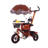 3人の車輪のバイクのおもちゃの子供の三輪車