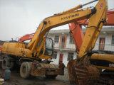Excavador usado de la rueda de Hyundai 210W