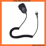 Poids léger de l'épaule à distance l'orateur Microphone pour la radio bidirectionnelle