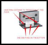 Braille de vidro a parede de 90 graus de bronze (HR1500G-5)