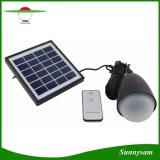 11のLED太陽ランプの動力を与えられたパネルエネルギー球根のリモート・コントロール携帯用キャンプテントライト