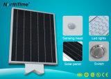 réverbère complet de module de panneau solaire de lampe d'éclairage de 15W DEL