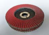 5*7/8 disco di ceramica della falda di pollice 36#-120# 125*22mm per la molatura dell'acciaio inossidabile