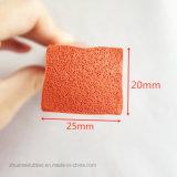 Esponja de silicone Junta de Silicone, Seção de esponja