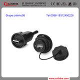 Dubbel Gebruik USB Port/USB om Schakelaar Cable/USB2.0 voor Medische Apparatuur rond te maken