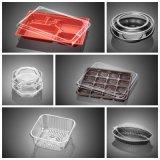 セリウムは4つのコラムのファーストフードボックスプラスチックThermoforming機械を証明した