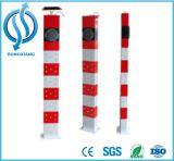 Poste de amarração a favor do meio ambiente do sinal do diodo emissor de luz da energia solar