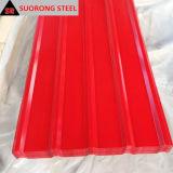 Mejor Venta de diferentes tamaños de hojas de techos de metal barato procedente de China