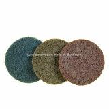 Condicionamento de superfície rebolos de nylon para aço inoxidável