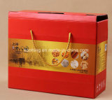 Nettes Corrugated Packing/Display Box Basket mit Handle für Strawberry
