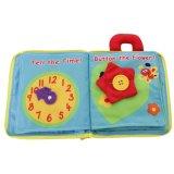 Qualitäts-kundenspezifisches aufnahmefähiges Baby-Tuch-Buch