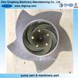 Pièce de pompe centrifuge de norme ANSI de matériau de CD4mcun/316 Ss/Titanium