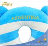 Almohada de cuello inflable Affordable Promocional 2016 U en forma de almohada de viaje