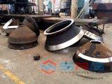 pièces de rechange de concasseurs miniers de pierre de l'équipement et la cuvette du manteau de chemise de contre-batteur