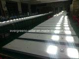 Feux de la rue solaire Type de point et d'aluminium Matériau du corps de lampe Rue lumière à LED