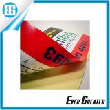 Personalizado ronda PVC etiqueta de impresión / Ventana de doble cara etiqueta de la ventana