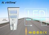 90W LED는 1개의 센서 태양 가로등에서 모두를 통합했다