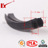 Pièces d'automobile EPDM Extrusion Rubber Seal for Glass