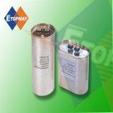 8UF 450VAC Cbb65 Capacidad de película de polipropileno de metal