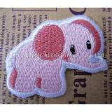 Оптовая торговля на заводе пользовательские моды слон вышивка исправления для украшения одежды