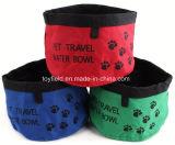 Bol de chien Aliments pour chats Eau Céramique Pet Bowl