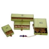 Ювелирных изделий подарка ящика коробка бумажных упаковывая с мешком ювелирных изделий бархата