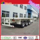 20ft 40FT Camion semi-remorque de conteneur à plat (FLY9201GYY)