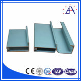 Prix bas profil en aluminium anodisé d'Extrusion