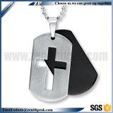 Novos Dons Design em aço inoxidável de metal da Cruz em branco Dog Tag