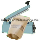 Máquina manual del lacre del bolso del impulso de la carrocería de la calidad superior