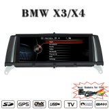Carplay para o vídeo estereofónico da vídeo DVD 3G WiFi do GPS Navradio do carro de BMW X4 F26 BMW X3 F25 nas unidades W GPS do traço