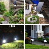 Lámpara de LED blanco de pared de luz solar