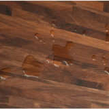 En bois sécher en arrière/étage de vinyle vers le bas de colle/PVC