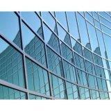 Mur rideau en verre (façade en verre, de la construction de verre) (JINBO)