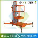 plataforma de trabalho aérea da liga de alumínio do reboque de 12m