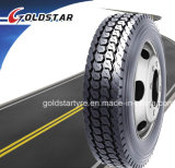 Pneumatico radiale resistente 295/75r22.5, 385/65r22.5, 315/80r22.5, 12r22.5, 12.00r24 del camion del bus di Goldstar TBR