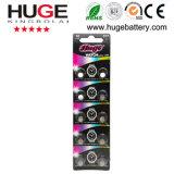 batterie argentée de montre de batterie de l'oxyde 1.55V (SG4 SR66 377)