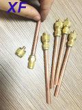 Клапан доступа рефрижерации медный, загрузочный клапан 1/я '' *70-100mm
