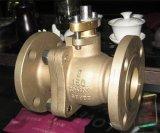 Шариковый клапан нержавеющей стали Trunnion, бронзовый шариковый клапан, медный шариковый клапан