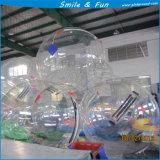 Wasser-Ballon D=2m für 1 Person, die auf Material des Wasser-Deutschland-Tizip Reißverschluss-TPU0.8mm geht